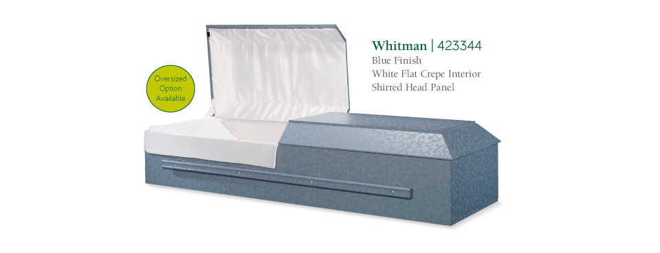 Featured Product, Whitman Blue Finish