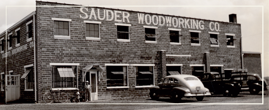 History of Sauder Woodworking